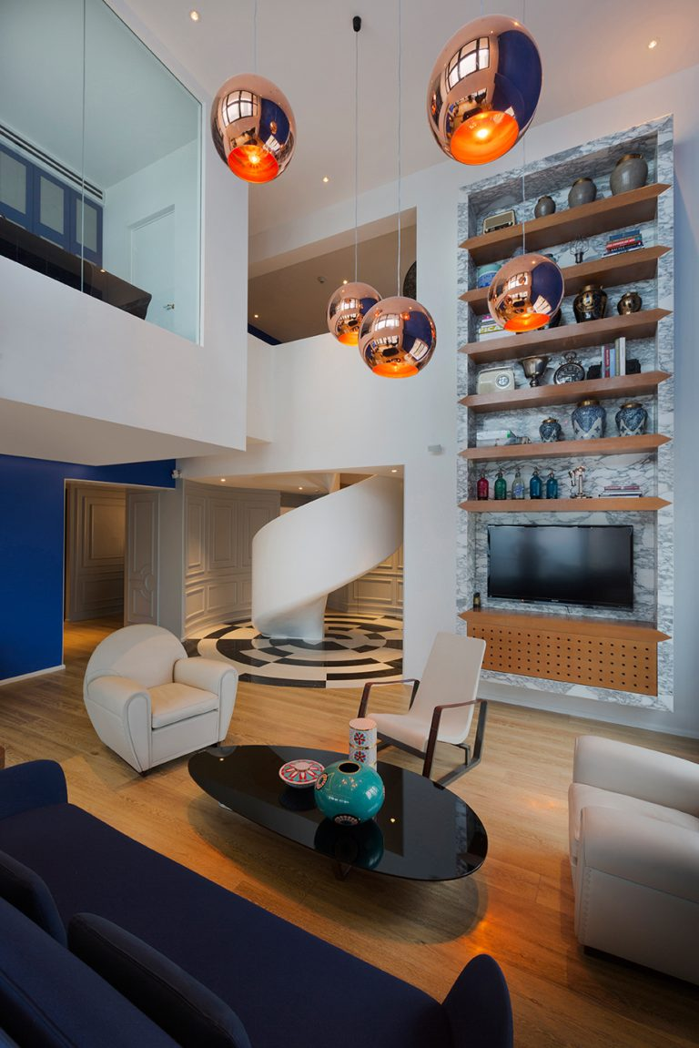 The Blue Penthouse